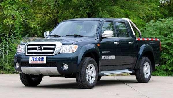Китайці оновили «піратську копію» пікапа Toyota Hilux