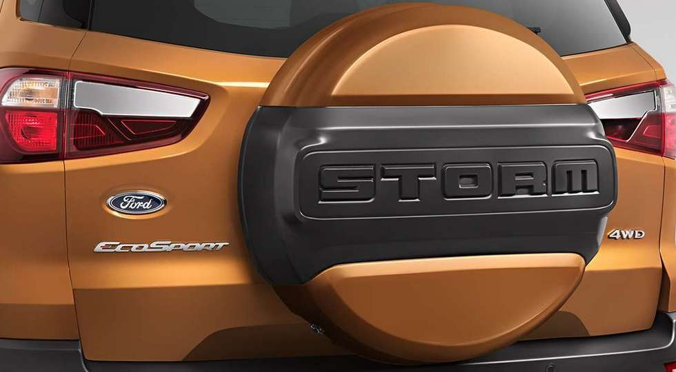 Кросовер Ford EcoSport отримав «брудну» версію EcoSport Storm