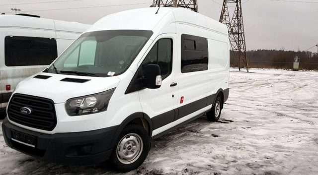 Ford для митників випустила спецверсію Ford Transit