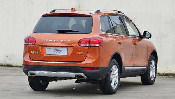 Клон Volkswagen Touareg — Yema T70 отримав спортивну версію