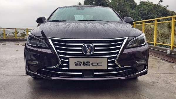 Розкішне купе Changan Raeton CC розсекретили на «живих» фото