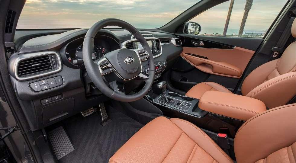 Kia представила оновлений кросовер Kia Sorento для США