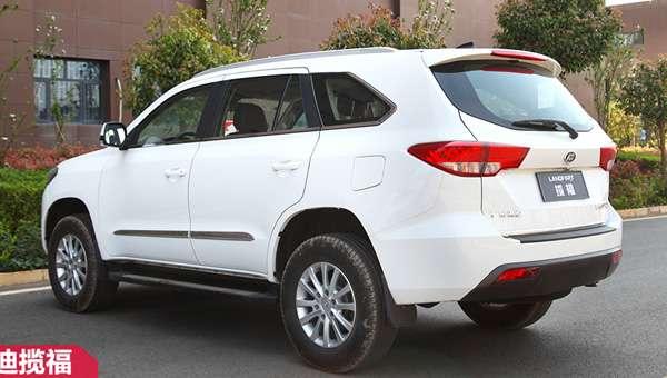 Китайська Foday оновила клон Toyota Land Cruiser Prado