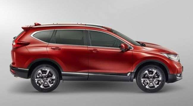 З 1 лютого в Росії подорожчають всі комплектації кросовера Honda CR-V