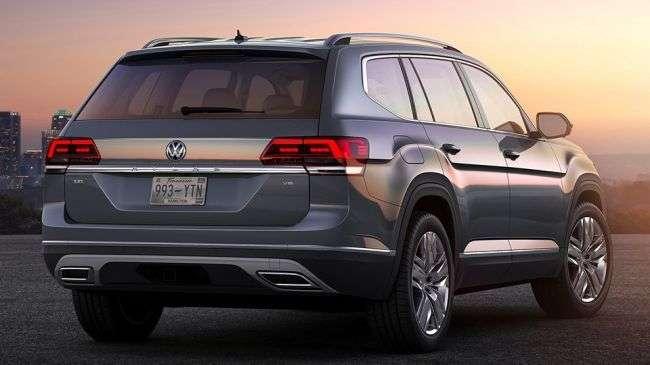 Новий кросовер Volkswagen Teramont зявиться в Росії навесні