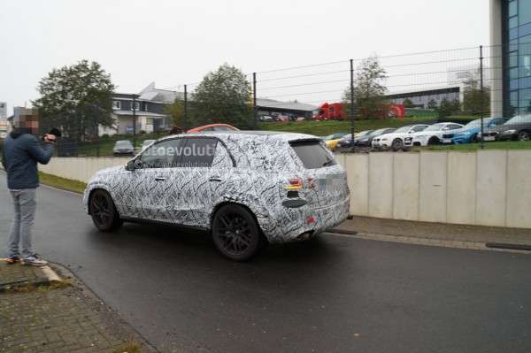 Оновлений позашляховик Mercedes-AMG GLE 63 2019 помітили на тестах