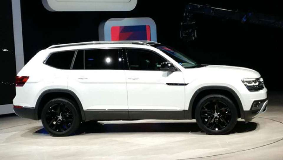 Позашляховик Volkswagen Teramont отримав спецверсію для китайського ринку