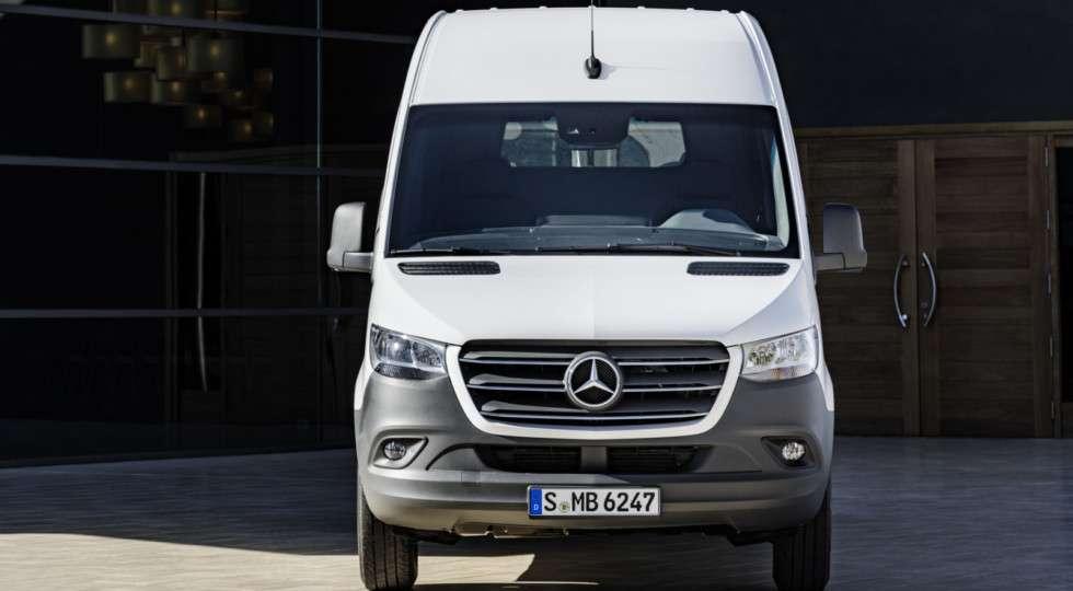 Mercedes-Benz офіційно представив нового покоління Sprinter