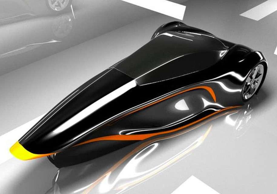 Проект літаючого автомобіля презентовано інженерами з РФ