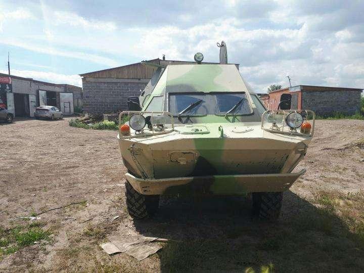 Челябінец продає на Авіто бойову машину розвідників за 750 тис. руб