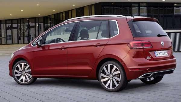 Озвучені ціни на оновлений мінівен Volkswagen Golf Sportsvan