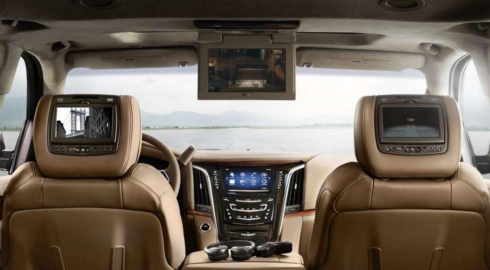 Cadillac привезла в Росію оновлений позашляховик Escalade