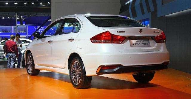 Оновлений Suzuki Alivio Pro з «особою» від Audi надійшов у продаж