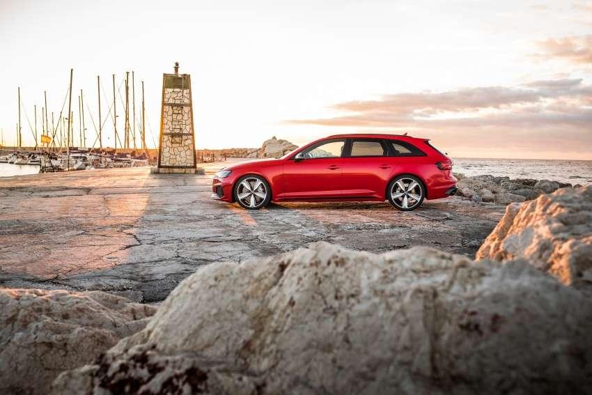 Audi опублікувала фото нового «зарядженого» універсала RS4 Avant