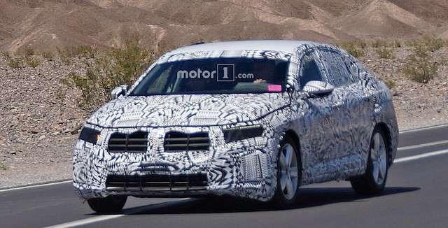 Зявилися перші шпигунські знімки нового Volkswagen Jetta GLI