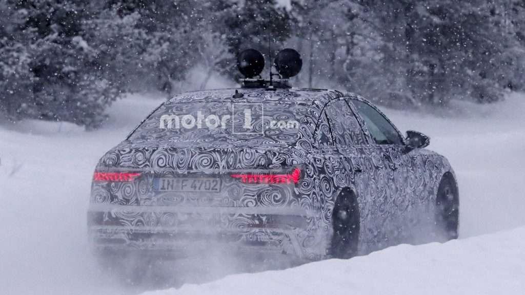 Компанія Audi вивела на зимові тести нове покоління Audi A6