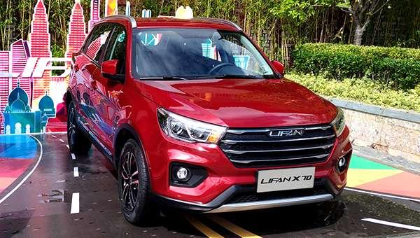Lifan представив конкурента Hyundai Creta в особі Lifan X70