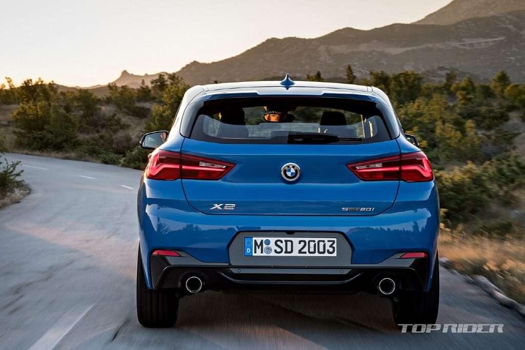 Офіційні зображення розсекретили новий BMW X2 до премєри