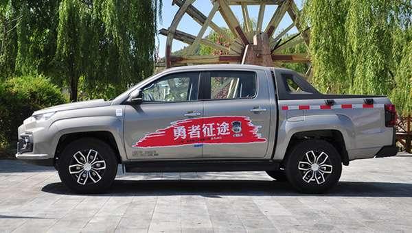 На ринку КНР стартували «живі» продажу пікапа JMC Yuhu 2018