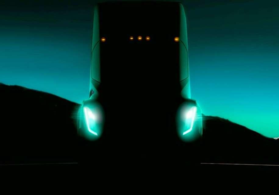 Перший рендер нового электрогрузовика Tesla Semi зявився в Мережі