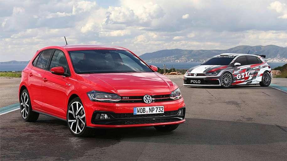 Компанія Volkswagen представила ралійний хетчбек Polo GTI R5