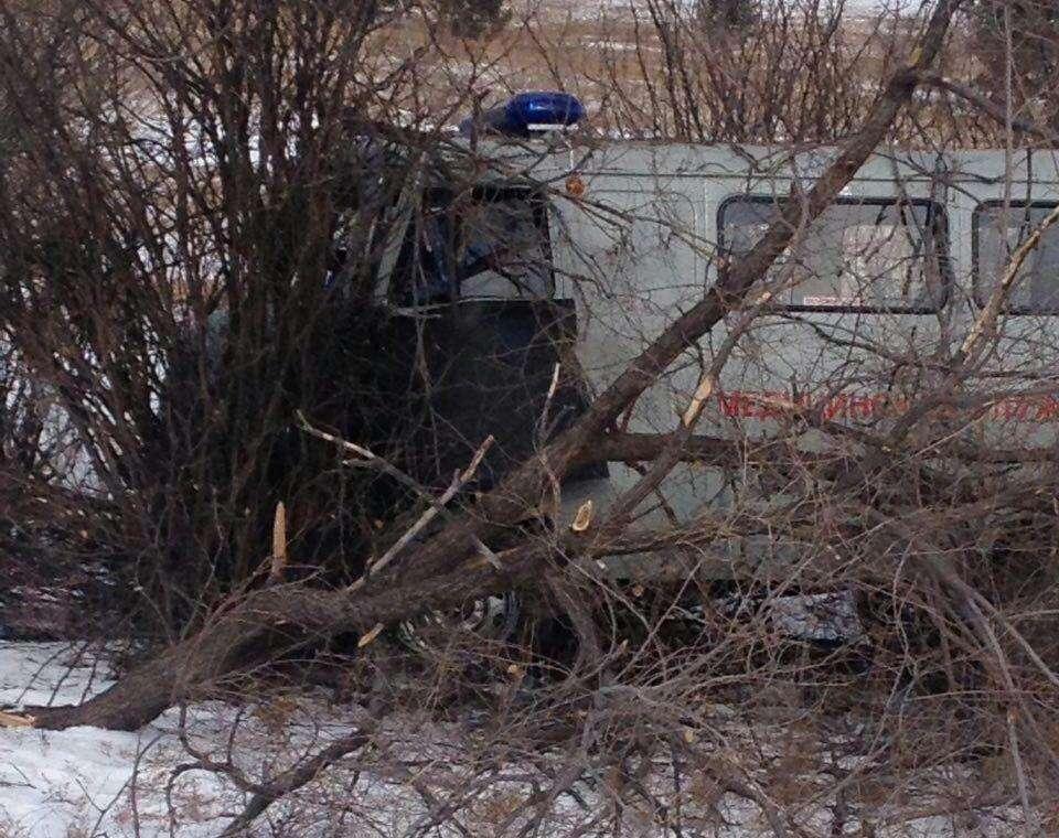 У Забайкаллі сталося ДТП за участю машини швидкої допомоги