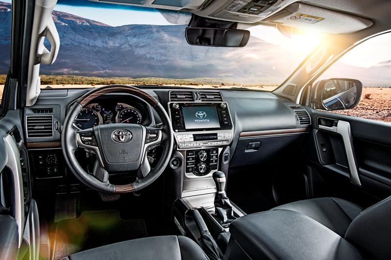 Toyota почала російські продажі оновленого Toyota Land Cruiser Prado