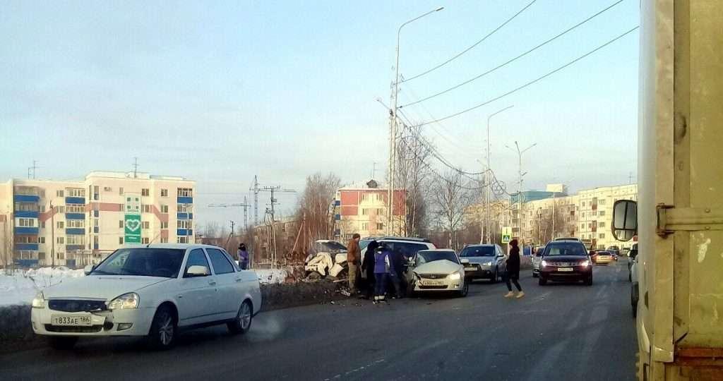 Одна людина загинула в ДТП Nissan X-Trail і «Пріори» в Нефтеюганске