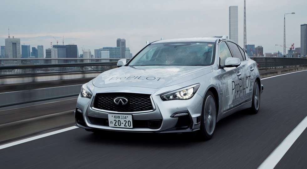 Безпілотний автомобіль Nissan протестували на дорогах Токіо