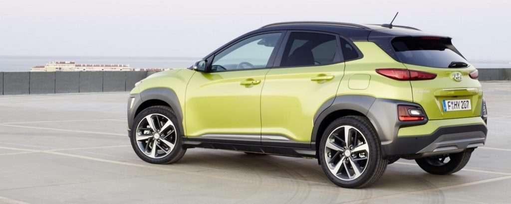 Стала відома вартість нового кросовера Hyundai Kona