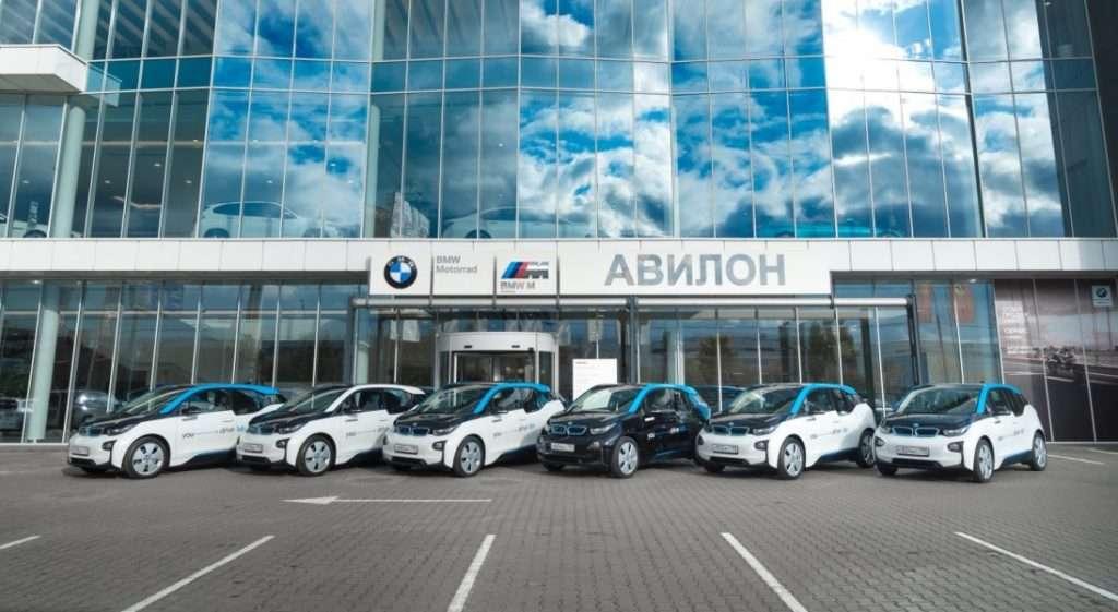 АВИЛОН видав перші електрокари BMW каршерінгу YOU drive