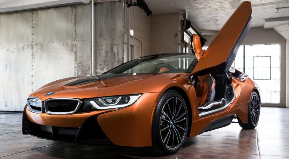 Нові BMW i8 Roadster і i8 Coupe представлені офіційно