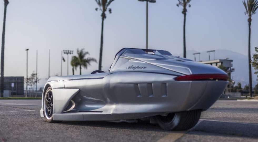 У Лос-Анджелесі представили триколісний родстер Ampere 1