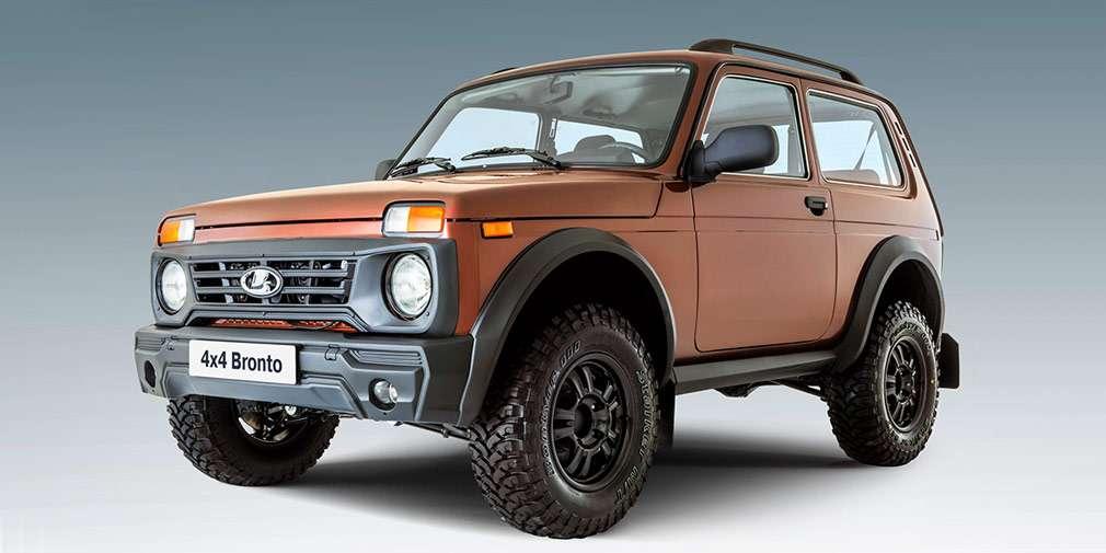 АвтоВАЗ оголосив про старт продажів позашляховика LADA 4X4 у версії Bronto