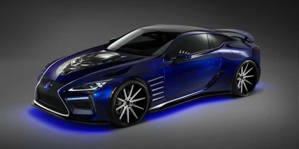 Компанія Lexus і Marvel підготували тюнінговий LC для Чорної Пантери