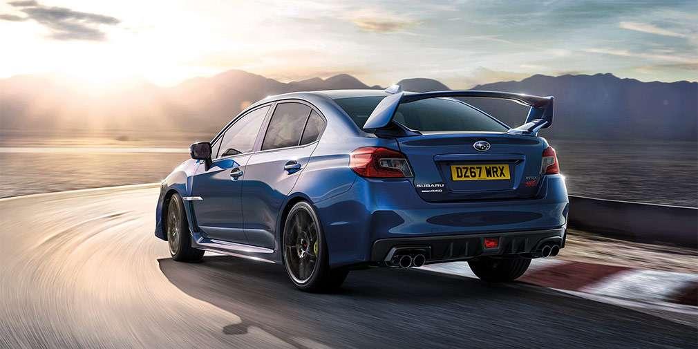 В Subaru спростували відмова від седана Subaru WRX STI
