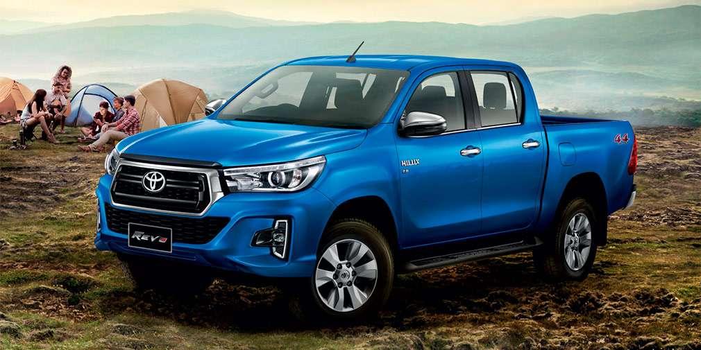 Toyota випустить люксову версію для пікапа Hilux 2018