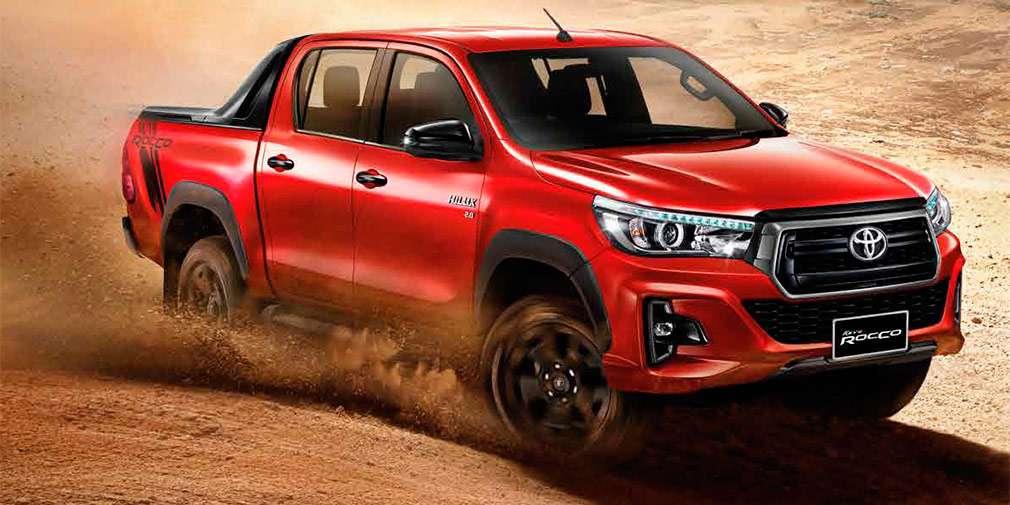 Продажі оновленого пікапа Hilux 2018 початку Toyota в Таїланді