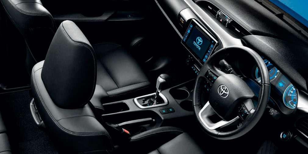 Toyota офіційно представила оновлений пікап Toyota Hilux