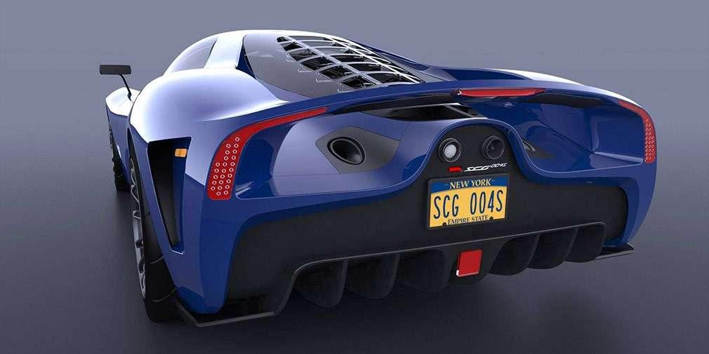 Компанія SCG випустила тримісний карбоновий суперкар