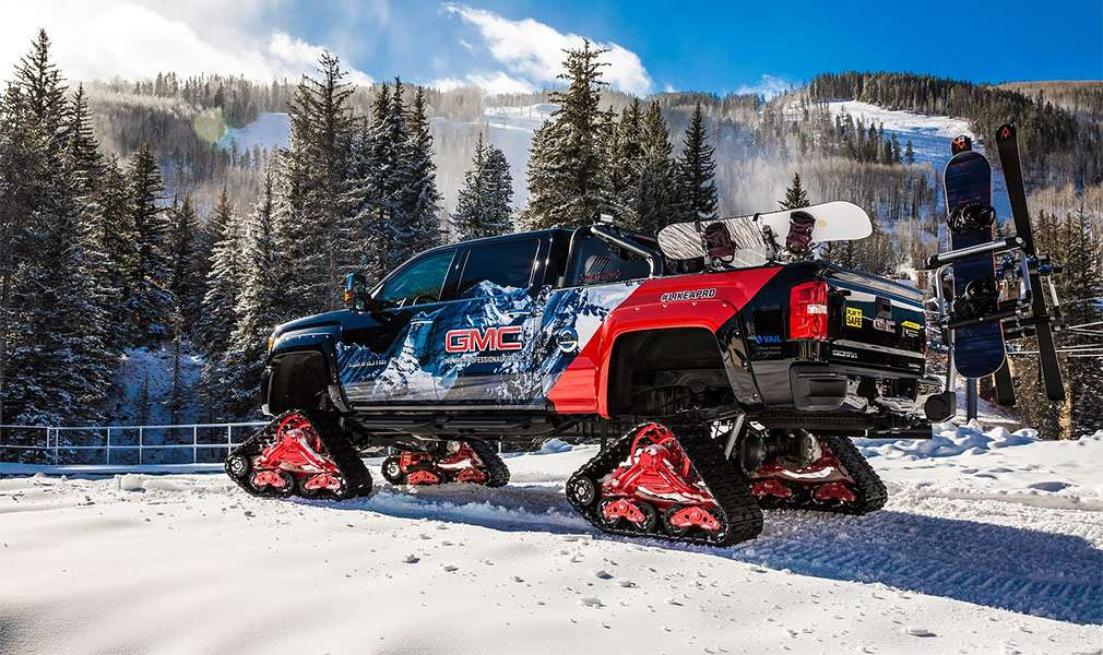 Компанія GMC представила гусеничний пікап Sierra All Mountain