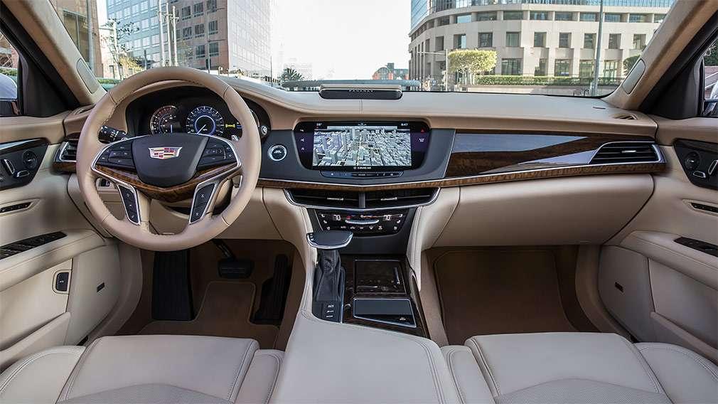 Cadillac озвучив рублеві ціни на флагманський седан CT6