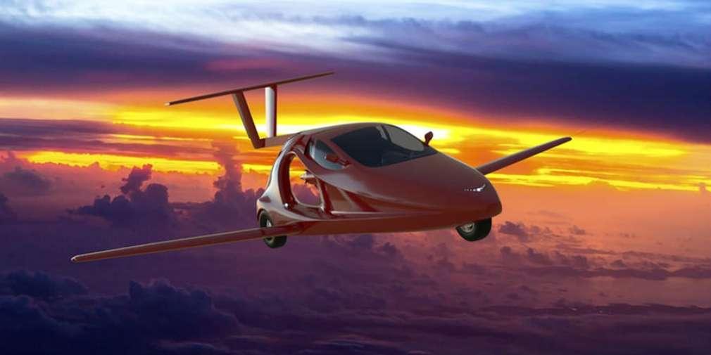 Продажі першого в світі літаючого спорткара стартують в 2018 році