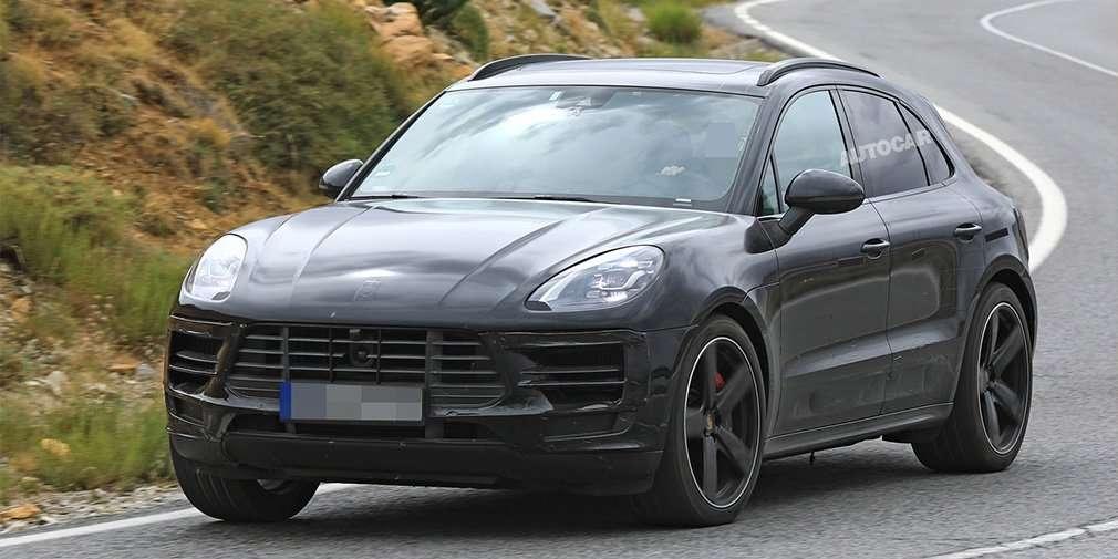 Оновлений кросовер Macan Porsche представить у квітні 2018 року