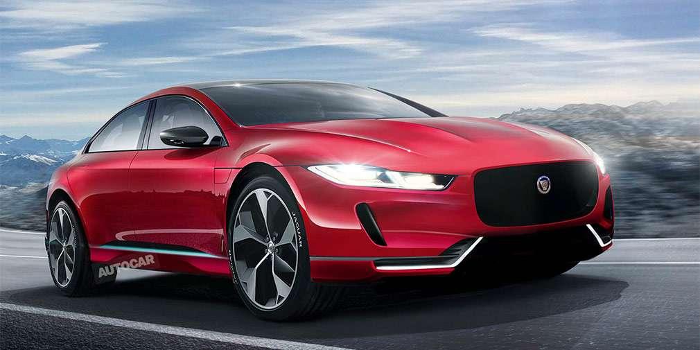 Нове покоління седана Jaguar XJ стане флагманським електрокаром