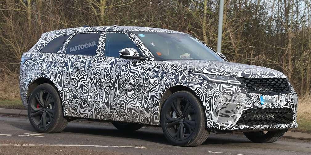 «Заряджений» Range Rover Velar SVR надійде в продаж з жовтня 2018 року