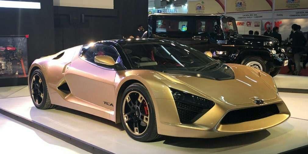 Індійська компанія DC Design представила 320-сильний спорткар TCA