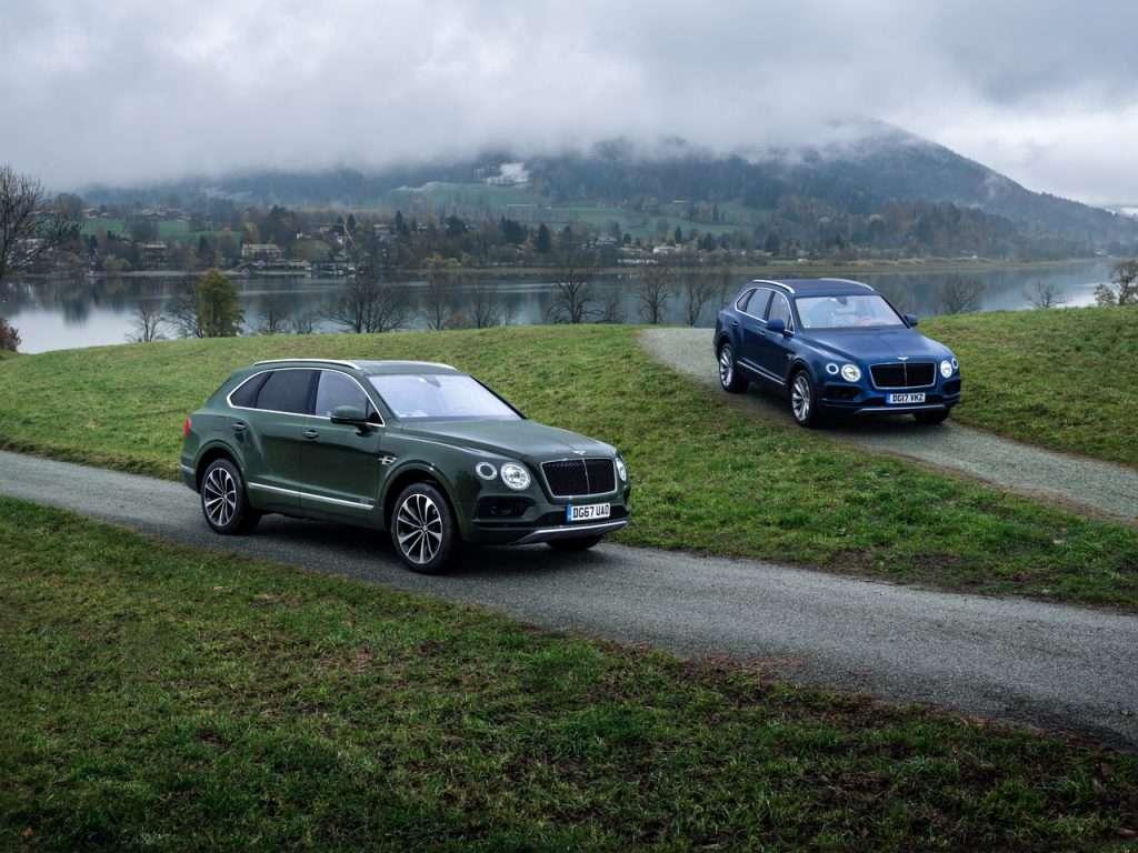 Дилери Bentley в Росії почали продажу дизельної версії Bentayga