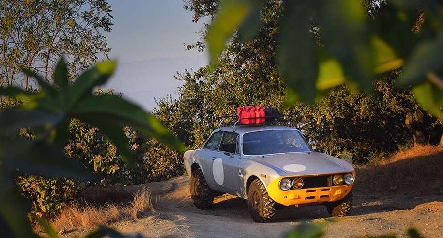Унікальний Alfa Romeo 2000 «GTV» отримав позашляхову версію