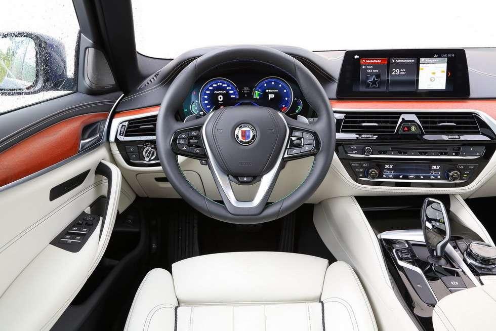 Новий B5 BI-Turbo Touring від Alpina став найшвидшим універсалом у світі